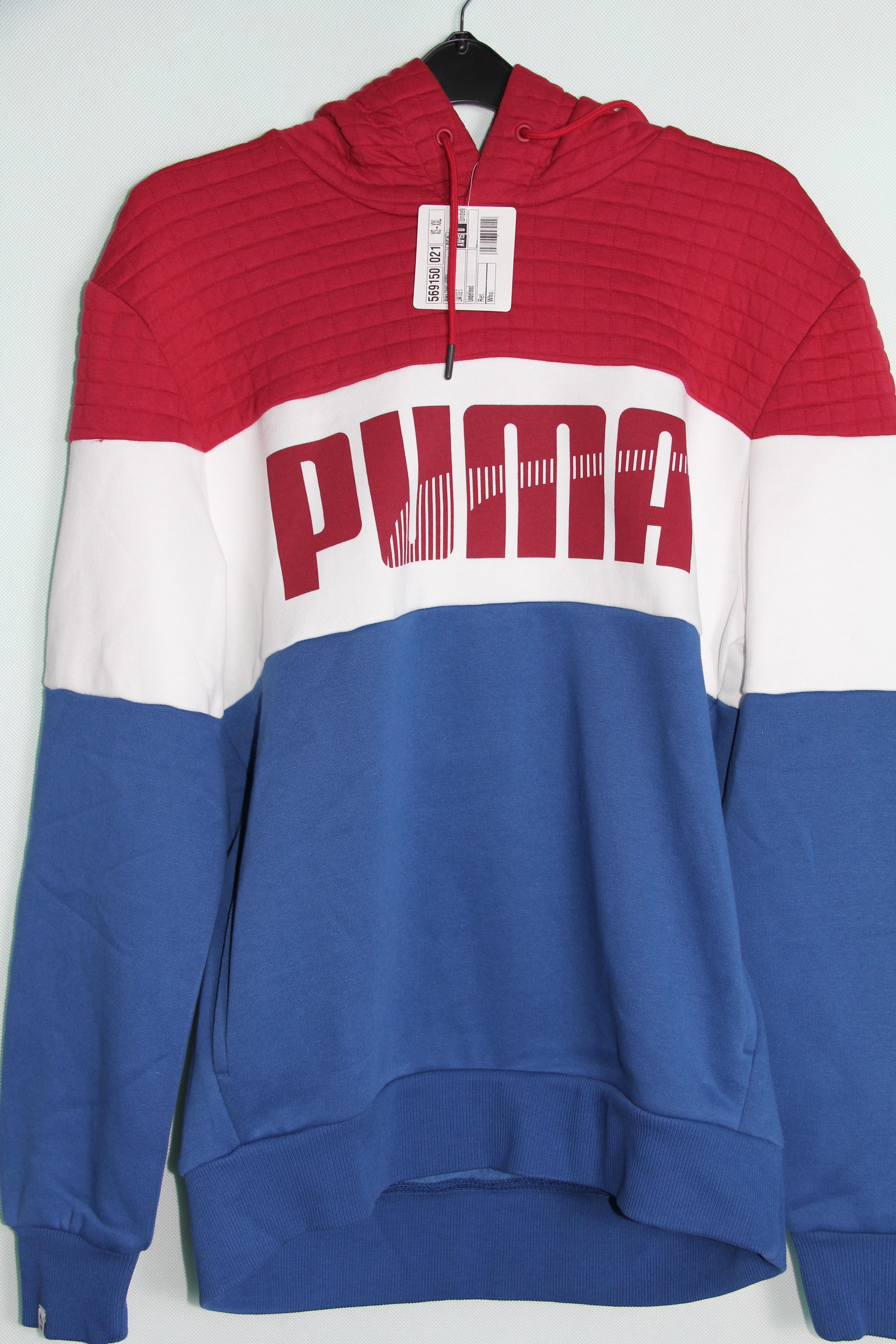 czerwona bluza puma